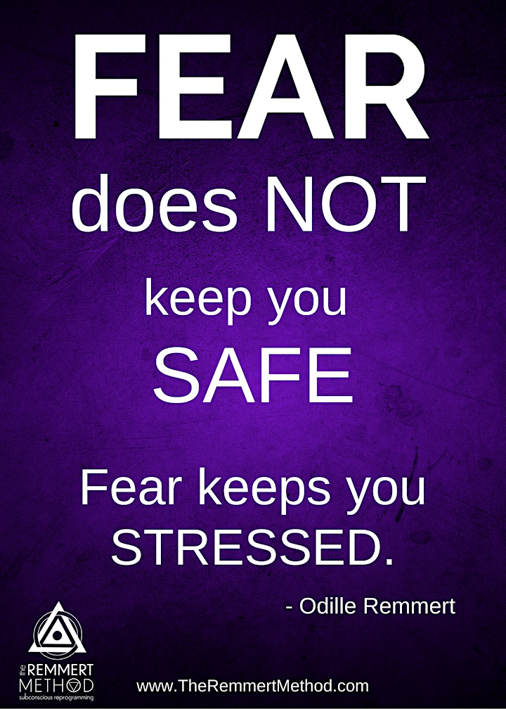 CLEAR THE FEAR ONLINE EVENT image