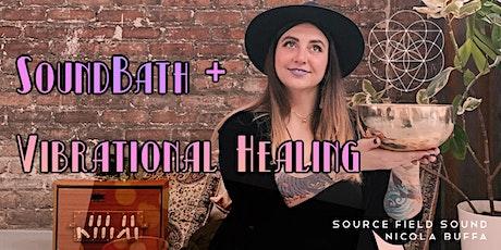 Soundbath + Vibrational Healing with Nicola Buffa tickets
