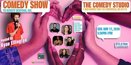 Comedy Show to Benefit Respond Inc! tickets