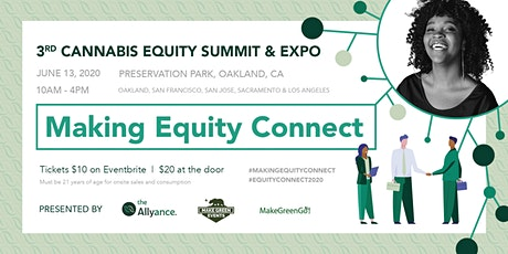 The 3rd Cannabis Equity Summit & Expo tickets