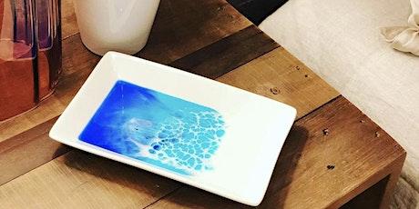 Resin Art Workshop w/Ocean trinket dish & mini wall art tickets
