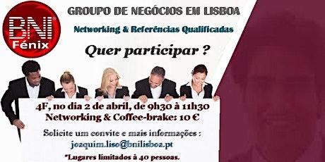 Business Networking/Coffee Break em Lisboa - BNI Fénix em Lisboa bilhetes