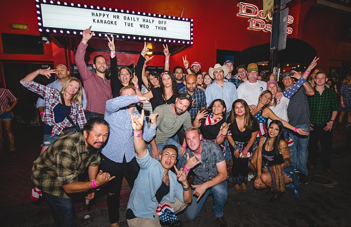 """San Diego """"Drink, Ride, Sing, & Dance!"""" Bar Tour (4 bars included) image"""