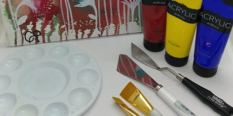 Virtual Acrylics for Beginners with Creatively Carrie tickets