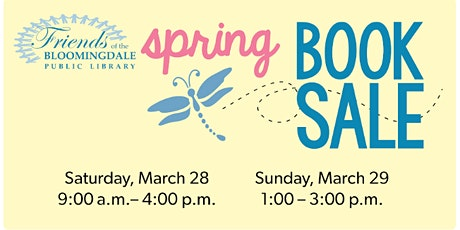 Spring Book Sale tickets