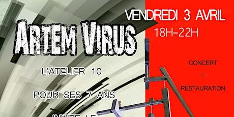 Atelier 10 : Artem Virus billets
