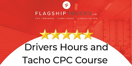 Driver Hours and Tachograph; Driver CPC Training tickets