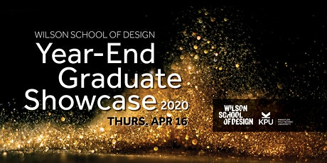 *CANCELLED * 2020 Wilson School of Design Year-End Graduate Showcase tickets