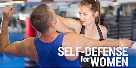 Self-Defense for Women - Tuesdays @ 7:30 - FOUR CLASS PASS tickets