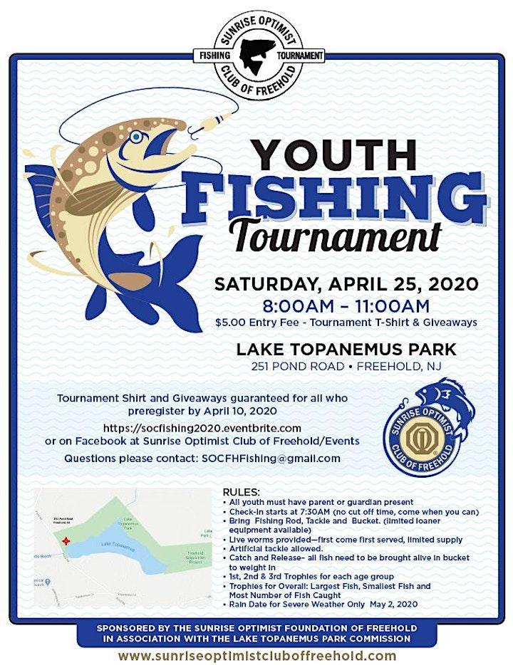 2020 Youth Fishing Tournament image