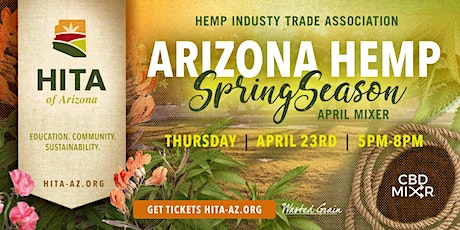 Hemp Industry Trade Association of Arizona April Meeting Mixer tickets