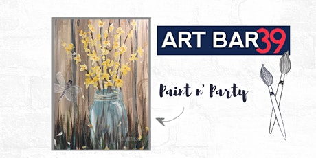 Paint & Sip | ART BAR 39 | Public Event | Country Pickings tickets
