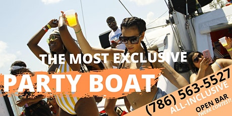 VIP PACKAGE!  Spring Break BOAT PARTY! tickets