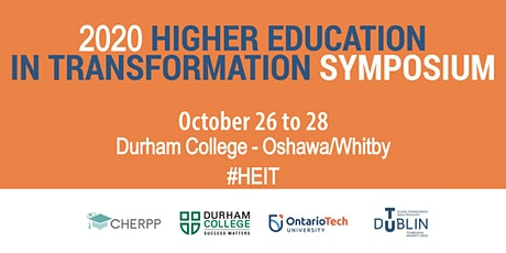 Higher Education In Transformation (HEIT) Symposium 2020 tickets