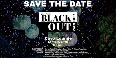 3rd Annual Black Out Cancer Party tickets