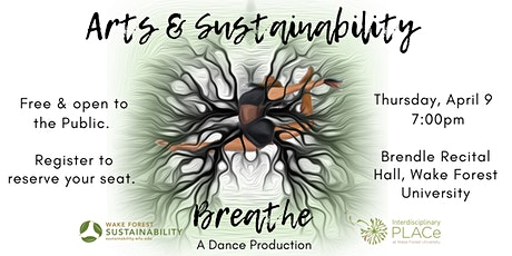 """Breathe"" Art and Sustainability Dance Production tickets"