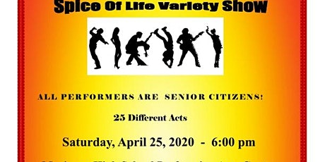 SPICE OF LIFE SENIOR VARIETY SHOW tickets