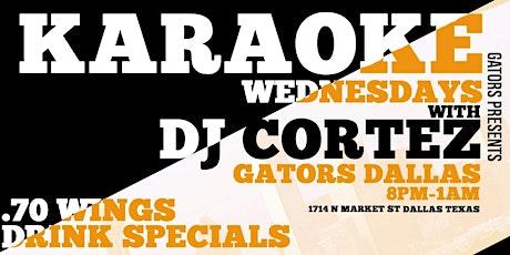 Karaoke Wednesday Wednesday! tickets