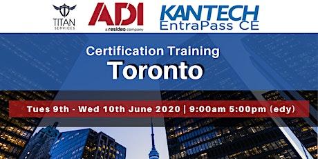 Toronto Kantech CE Certification - ADI  tickets