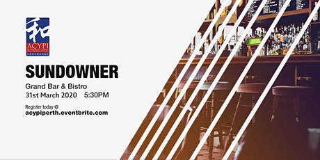ACYPI Young Professionals Networking & Sundowner tickets
