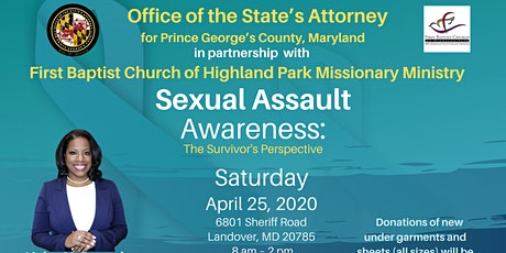 SEXUAL ASSAULT AWARENESS: The Survivor's Perspective tickets