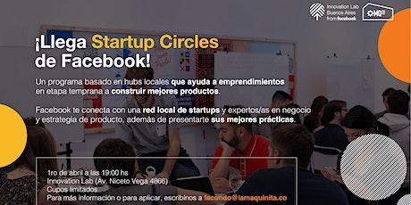Lanzamiento Startup Circles entradas