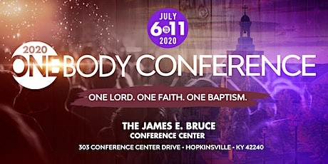 2020 One Body Conference tickets