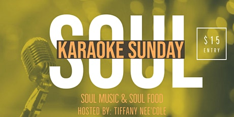 Soul Karaoke Sundays tickets
