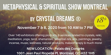 The Metaphysical & Spiritual Show of Montreal tickets