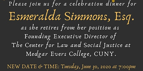 Retirement Dinner in Celebration of  Esmeralda Simmons, Esq. tickets