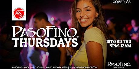 PasoFino Thursday featuring Salsa & Bachata Music tickets