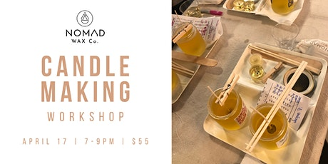 Make Your Own Candle Workshop - NOMAD Wax Co. Grand Opening tickets