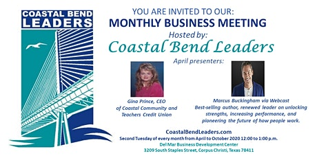 Coastal Bend Leaders Business Meeting tickets