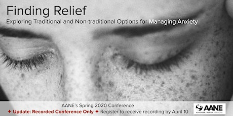 AANE's Spring 2020 Conference tickets