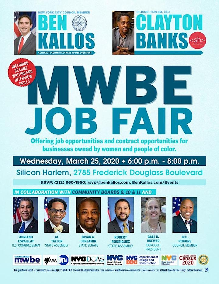 MWBE Job Fair image
