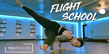 POSTPONED: Flight School Inversion Workshop at TruFusion tickets