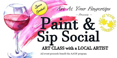 Paint and Sip Social tickets