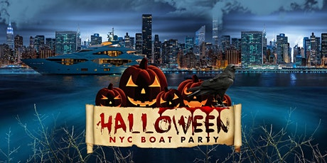 NYC #1 HALLOWEEN PARTY on the Boat: Saturday Night tickets