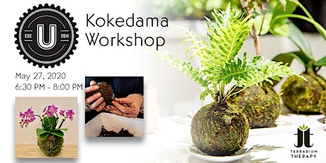 Jade Kokedama Workshop at Union Craft Brewing tickets