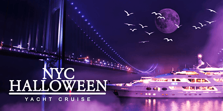 NYC #1 HALLOWEEN PARTY on the Boat: Friday Night tickets