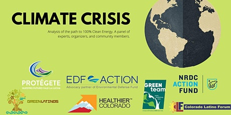Climate Crisis! A Panel Event tickets