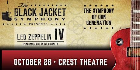 The Black Jacket Symphony Presents: Led Zeppelin IV tickets