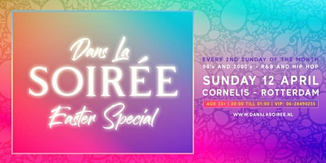 Dans La Soiree - Easter Special - 12 april 2020 tickets