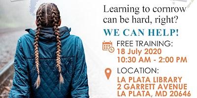 FREE: Learn to cornrow in 15 mins workshop