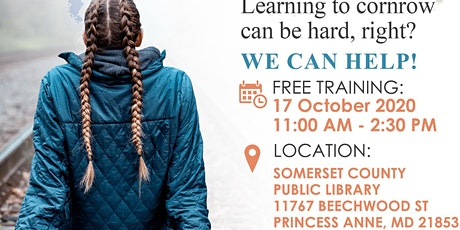FREE: Learn to cornrow in 15 mins workshop tickets