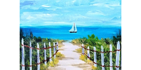 """5/13 - Corks and Canvas Event @ Port Townsend Vineyards, PORT TOWNSEND """"Day at the Beach"""" tickets"""