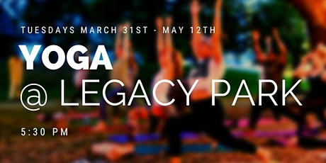 Yoga at Legacy Park tickets