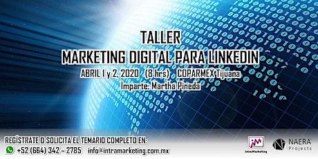 TALLER MARKETING DIGITAL PARA LINKEDIN tickets