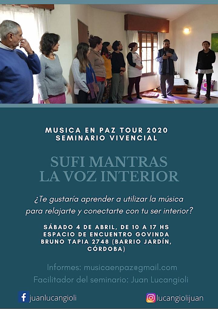 Imagen de Mantras Sufis~La Voz del Corazón (Seminario Vivencial)