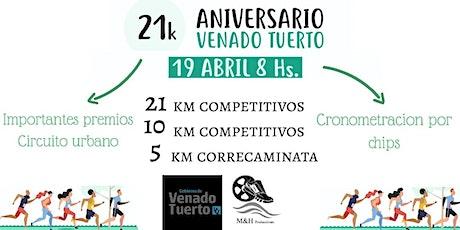Media Maratón Aniversario Ciudad de venado Tuerto entradas